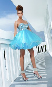 2012 short ball gown 2