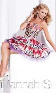 short skirt 2012 short ball gown 1