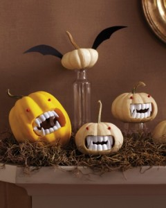 Click on the photo to find out how to carve these fabulous fanged ones