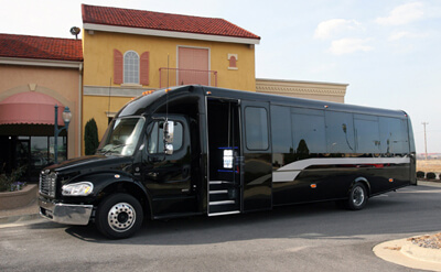 Party Bus-Exterior shot