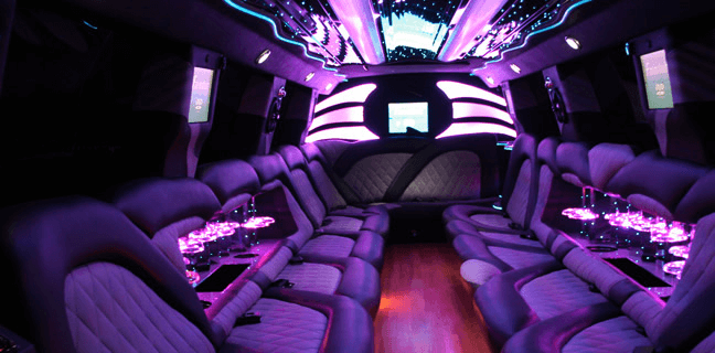 Inside the Party Bus